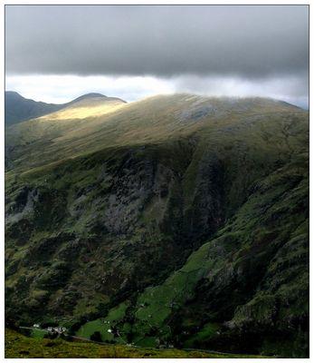 Snowdonia Gebirge