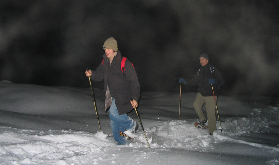 Snowshoe Night