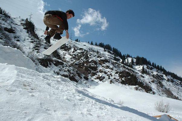 "Snowskate ""Michi Hohl"" (Stuben am Arlberg LBC05)"