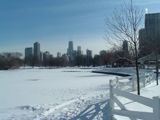 Snowy Lincoln Park