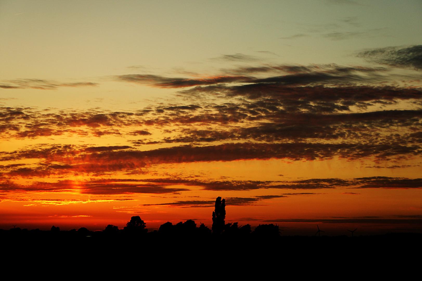 So ein schöner Sonnenuntergang *-*