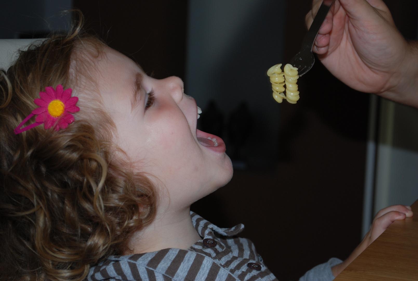 So esse ich am liebsten meine Nudeln.
