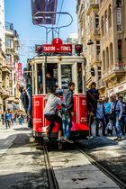 So fährt Istanbul Strassenbahn