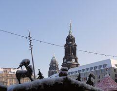 So kann Winter in Dresden aussehen - 29.12.2010