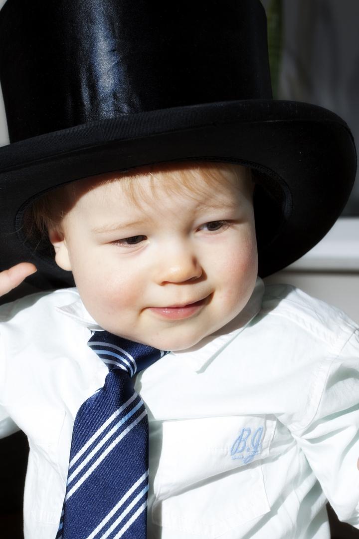So klein mit Hut