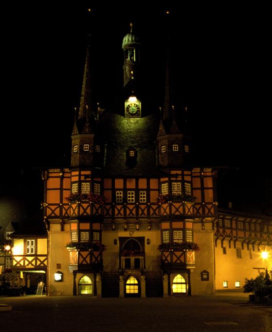 So müßte es jetzt in Wernigerode aussehen !