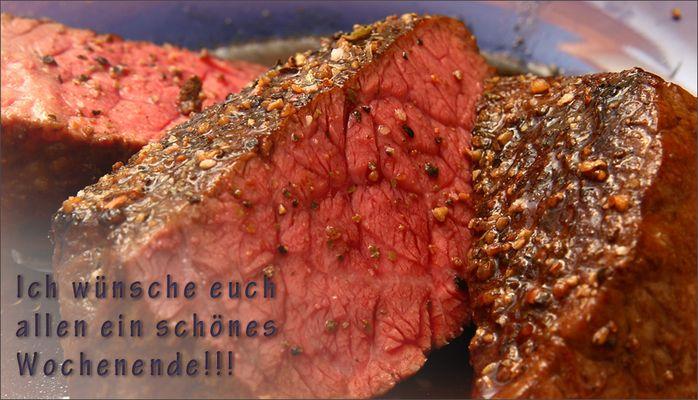 So muss ein Steak schmecken... :-)