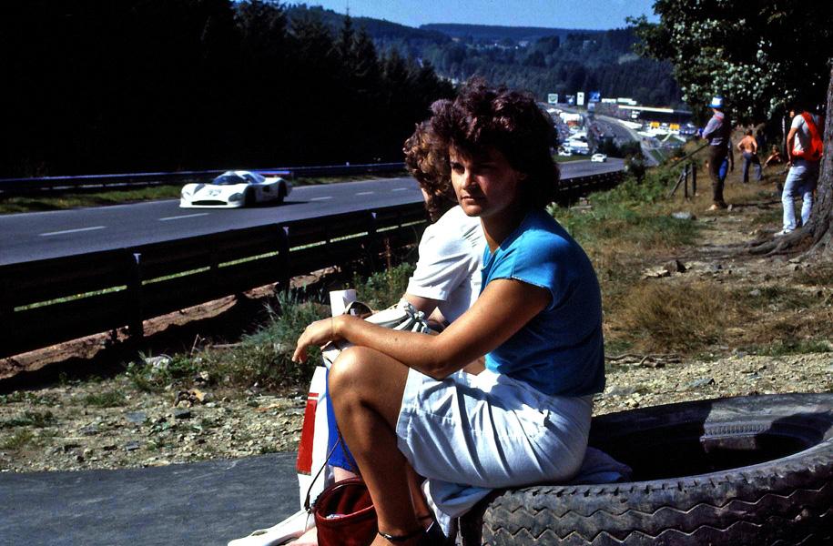 So nah gings damals 1982 an die Strecke.!