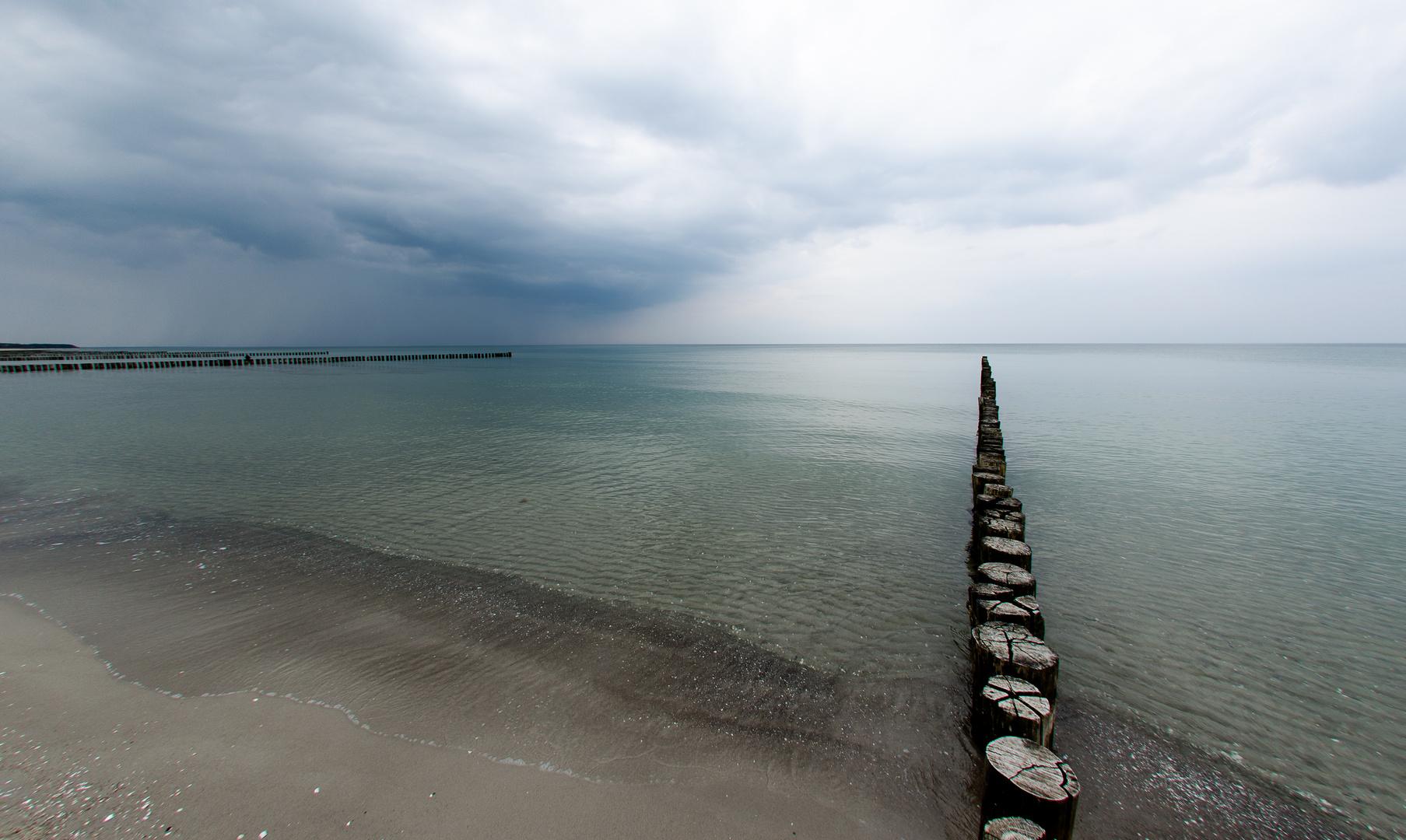 So ruhig ist die Ostsee selten ...
