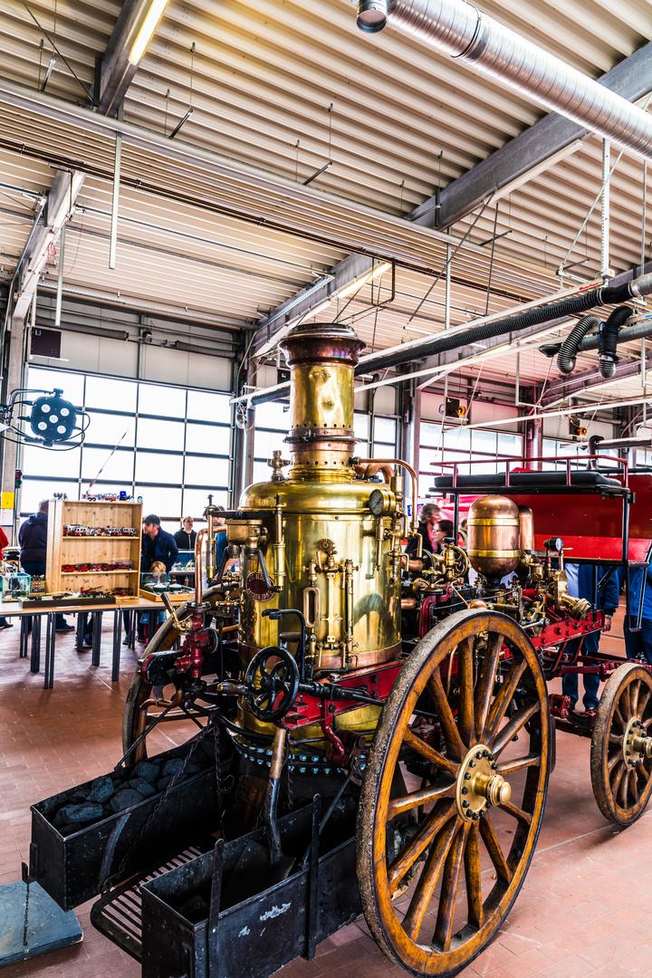 So sah die Feuerwehr 1902 aus