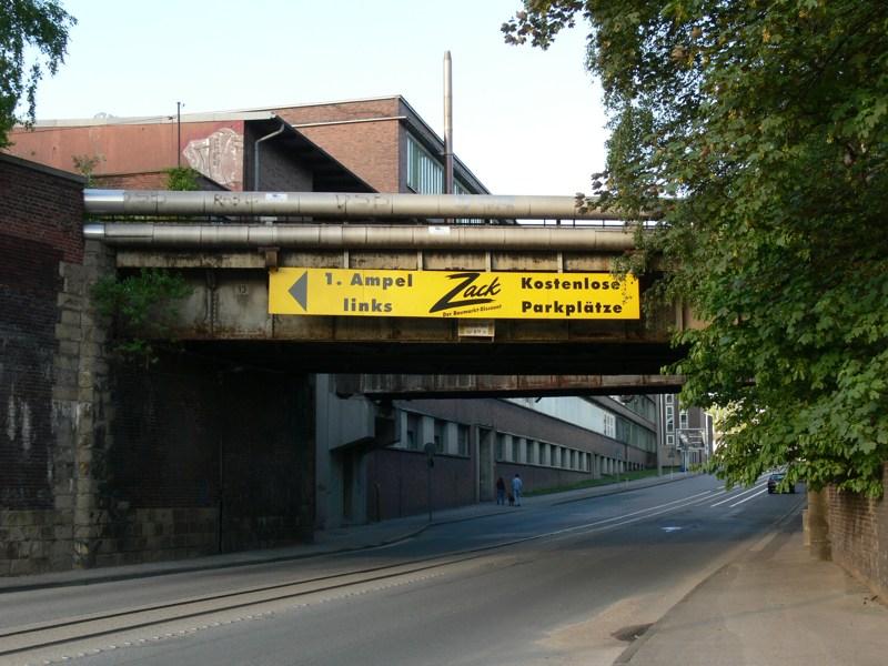 So sahen die Brücken noch 2007 aus