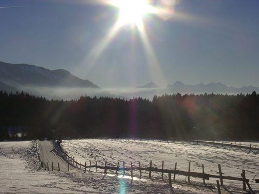 so schön ist BAYERN im Winter