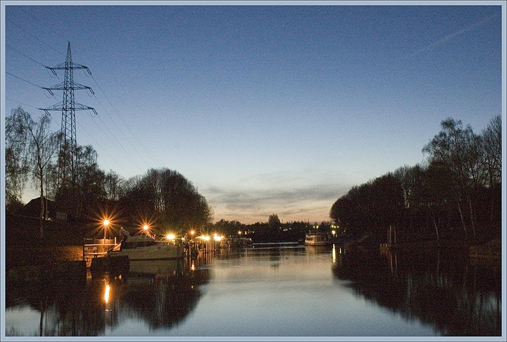 So schön ist das Ruhrgebiet an einem lauen Frühlingsabend...