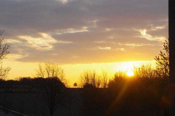 So schön kann der Morgen sein