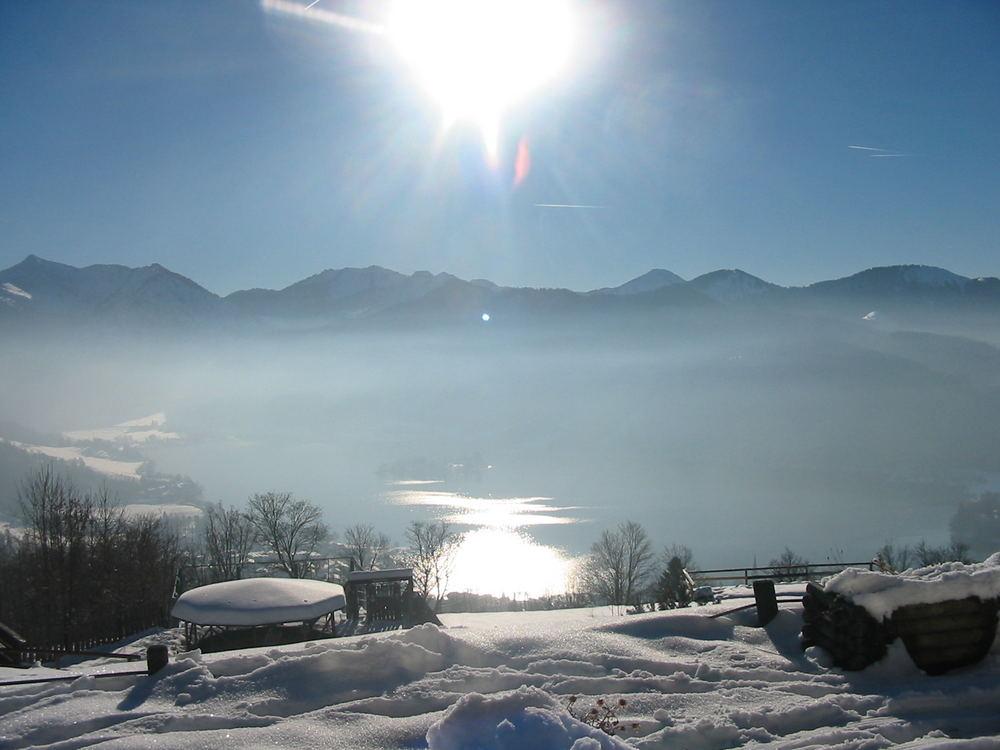So schön kann der Winter sein.