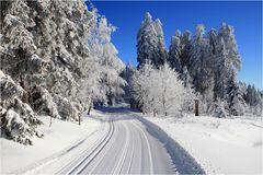So schön kann Winter sein.....