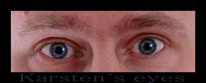 So schön sind blaue Augen....