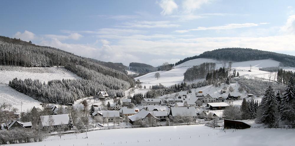 Schnee Heute