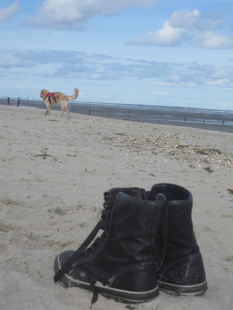 So weit die Füße tragen...