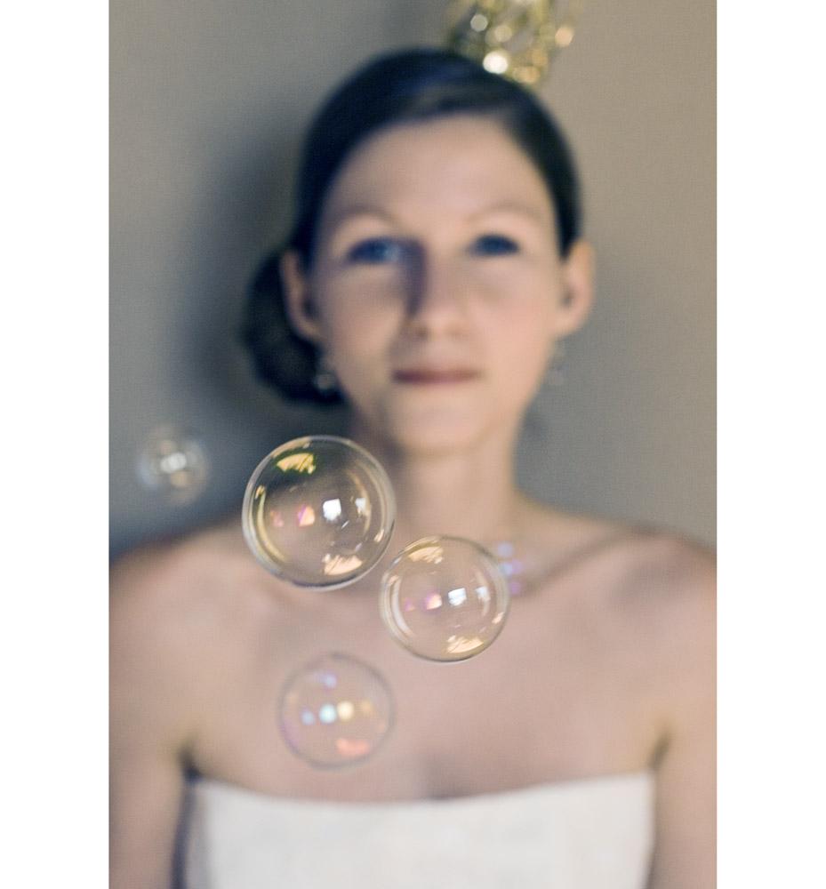 soap bubbles.....