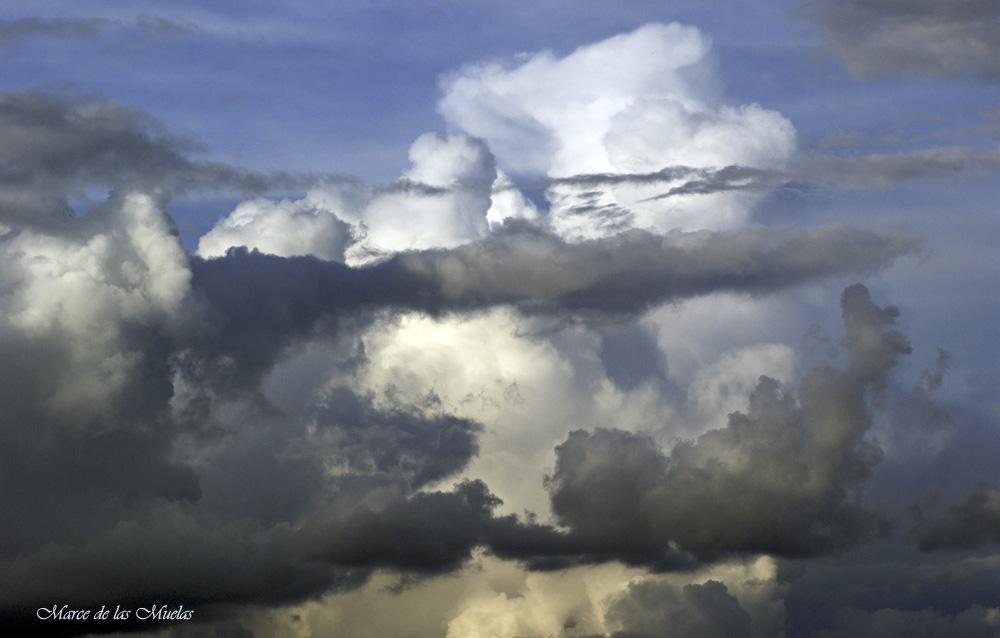 ...sobre el cielo...