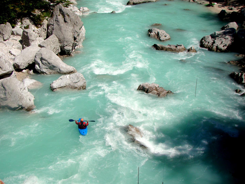 Soca-Tal / Julischen Alpen / Slowenien