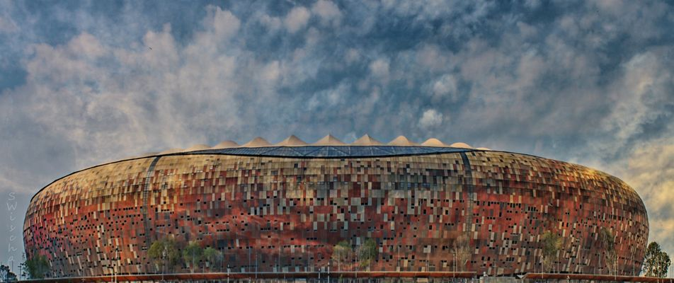 Soccer City Stadion South Africa / Johburg