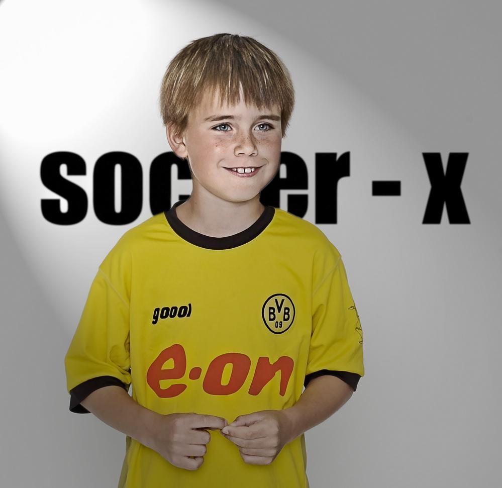 * soccer -x *