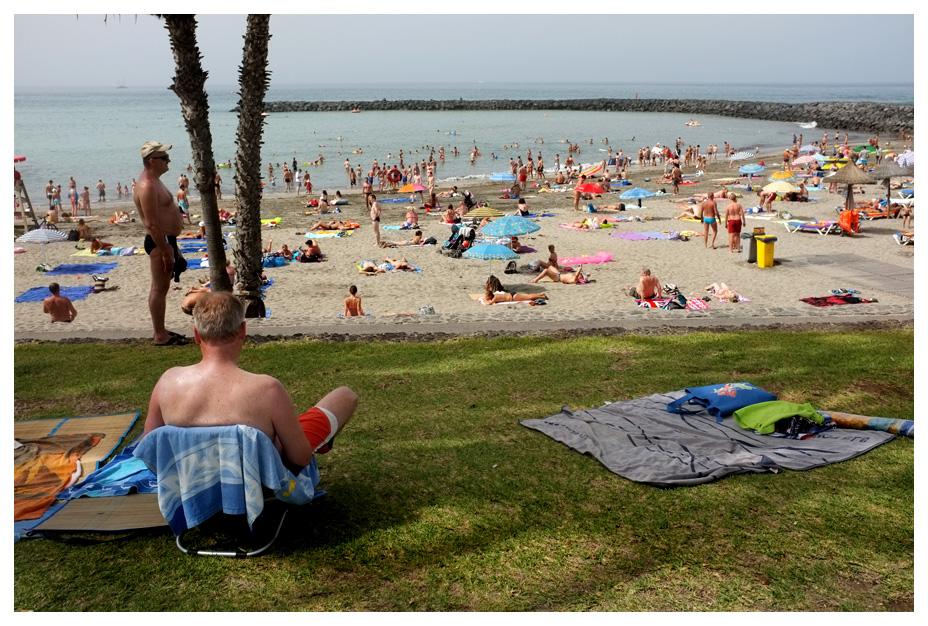 -- Social Life at Beach --