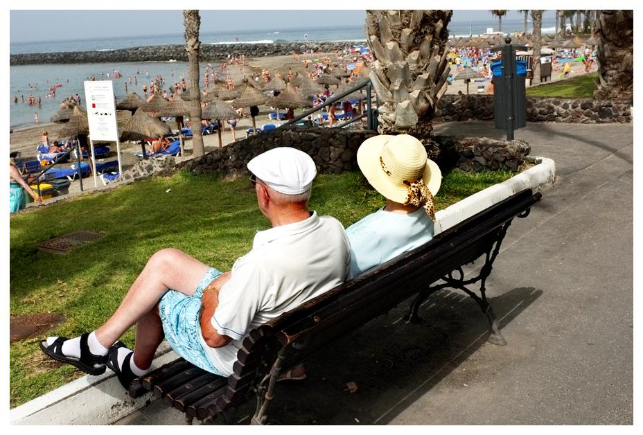 - Social Life at Beach -