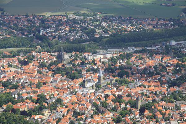 Soest von oben... - Deutschland, Nordrhein Westfalen