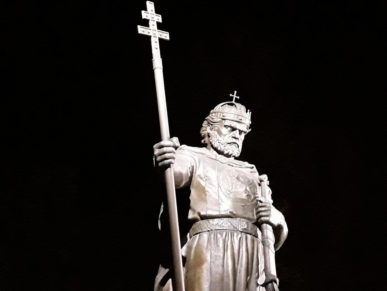SOFIA: statua di Re Samuel...