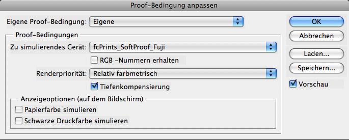 Softproof mit CS2