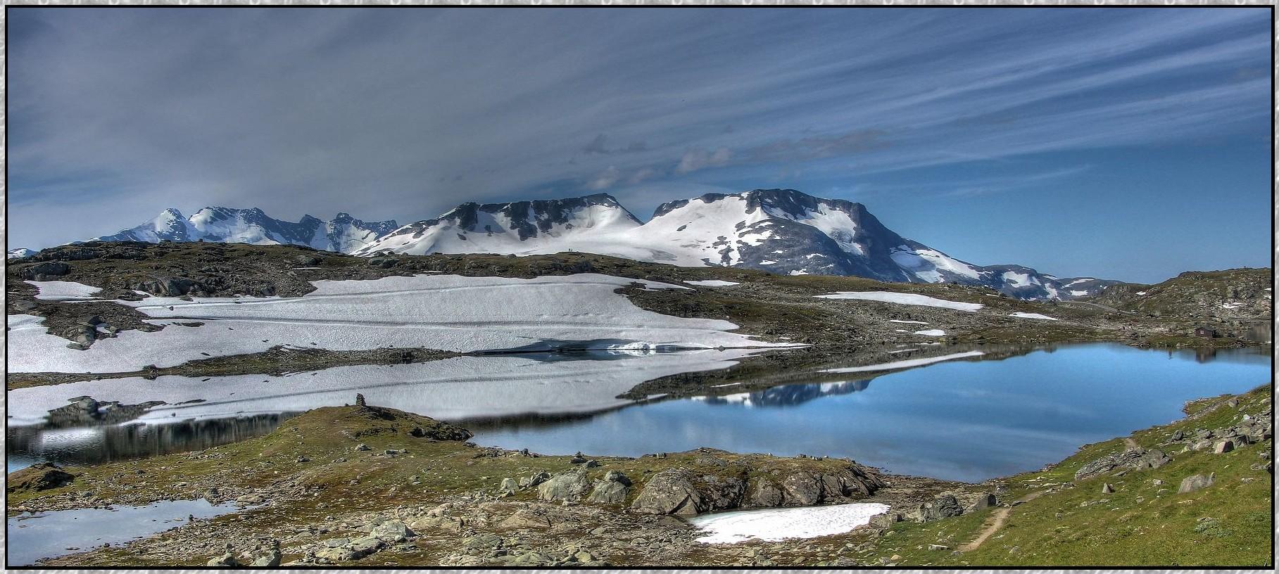 Sognefjell : Norwegenreise 2013 ( HDR )