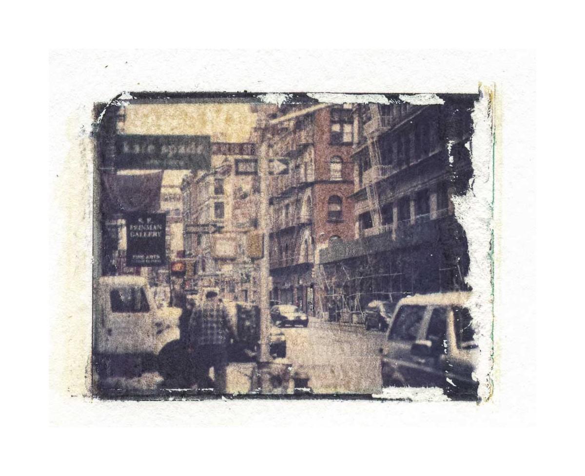 Soho - Polaroidtransfer