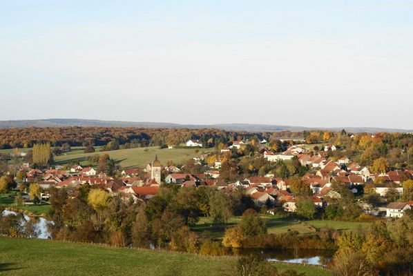 Soing village de Haute Saône