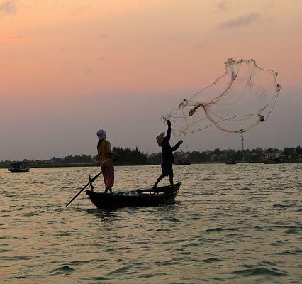 Soir de pêche