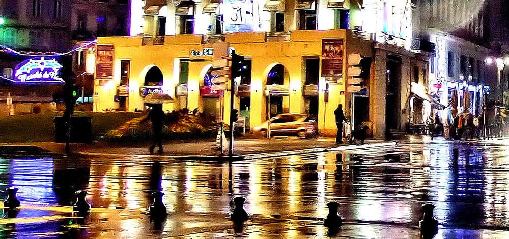 Soir de pluie