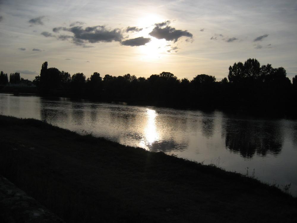 Soir d'été sur la Loire