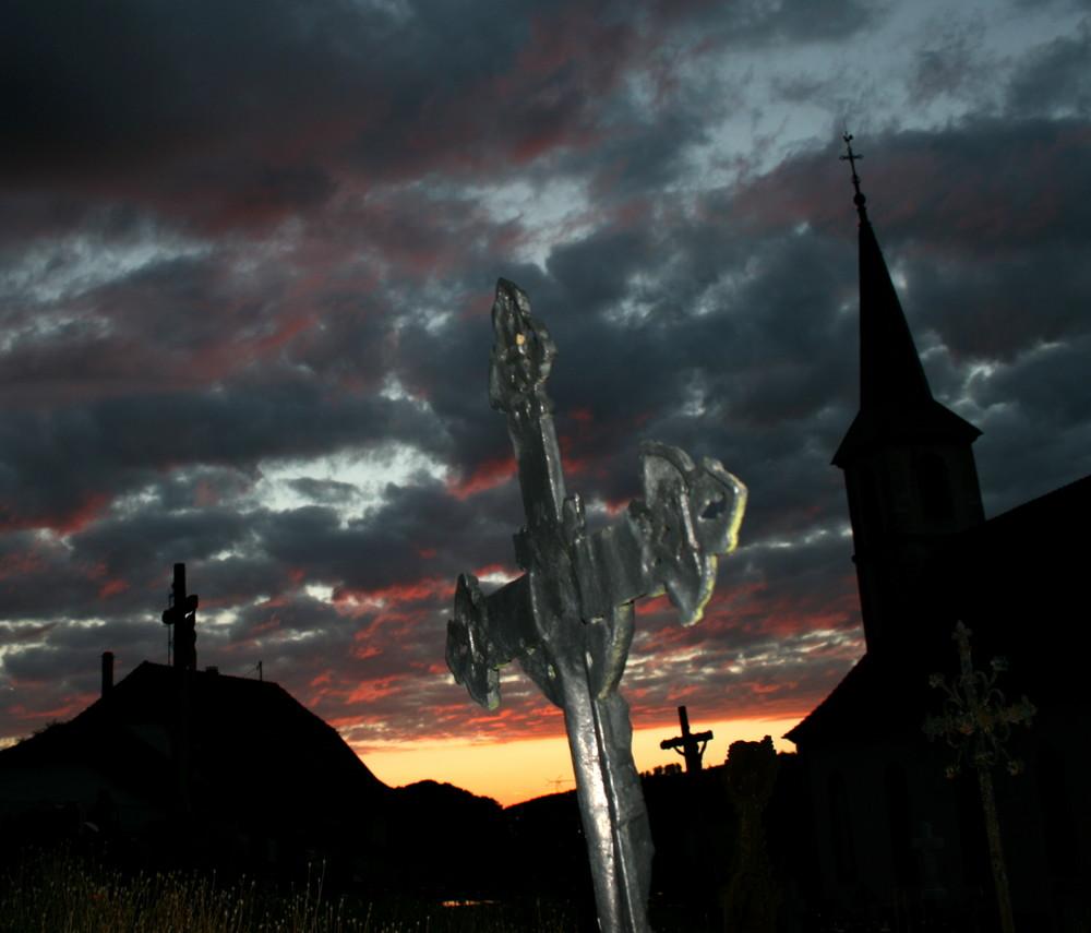 soirée au cimetière 1