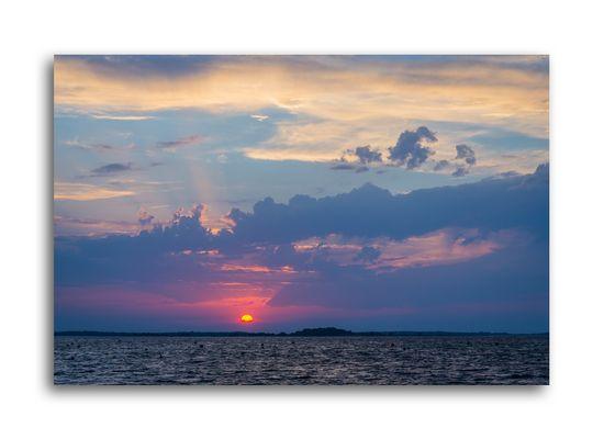 Soirée d'été - Lac du Der