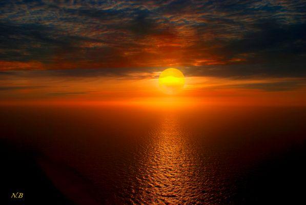 Sol de media noche..Cabo Norte