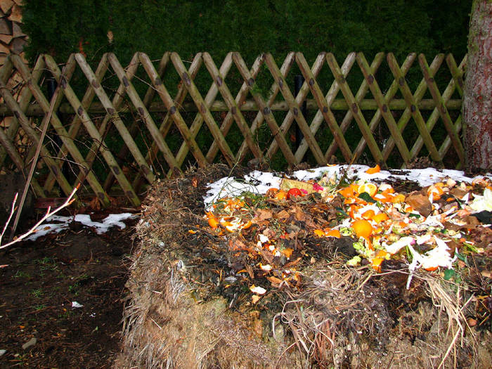 Solch ein Müll, nun ist der Schnee wieder weg