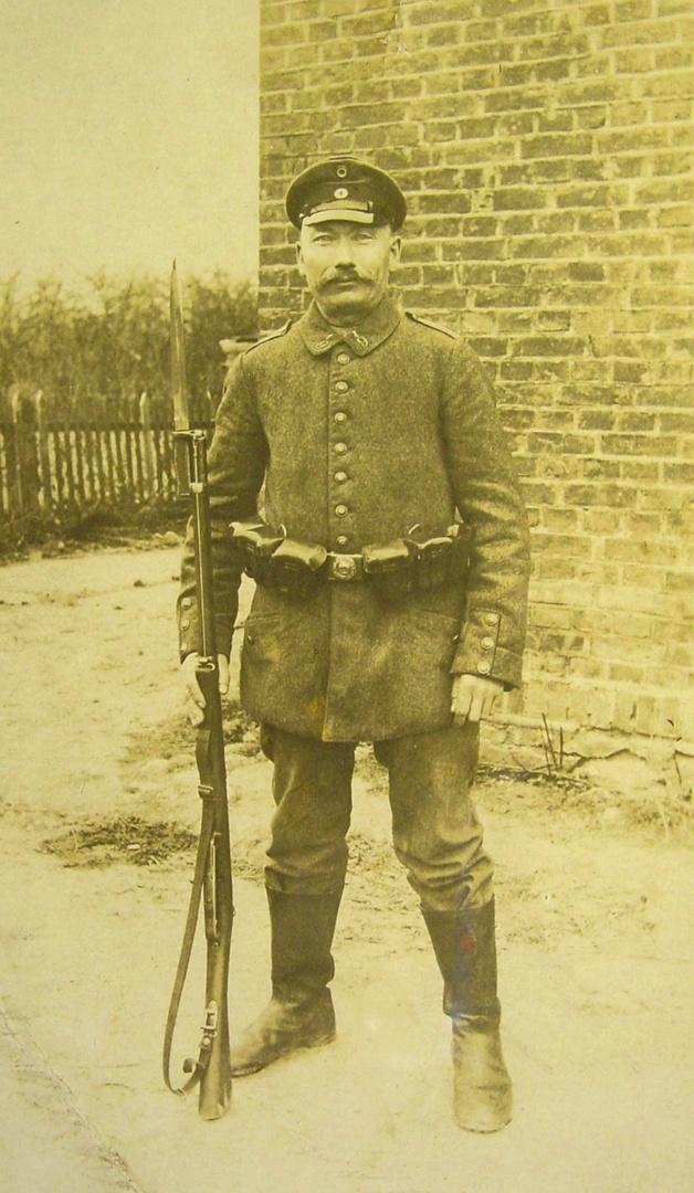 Soldat in Russland