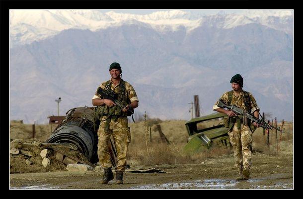 Soldaten in Kabul