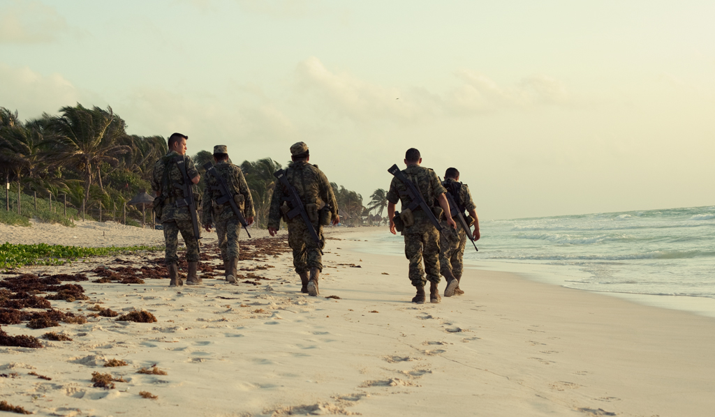 Soldaten in Mexiko