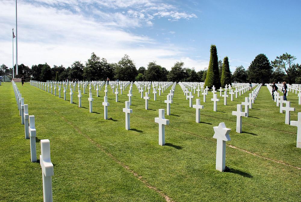 Soldatenfriedhof Colleville-sur-Mer