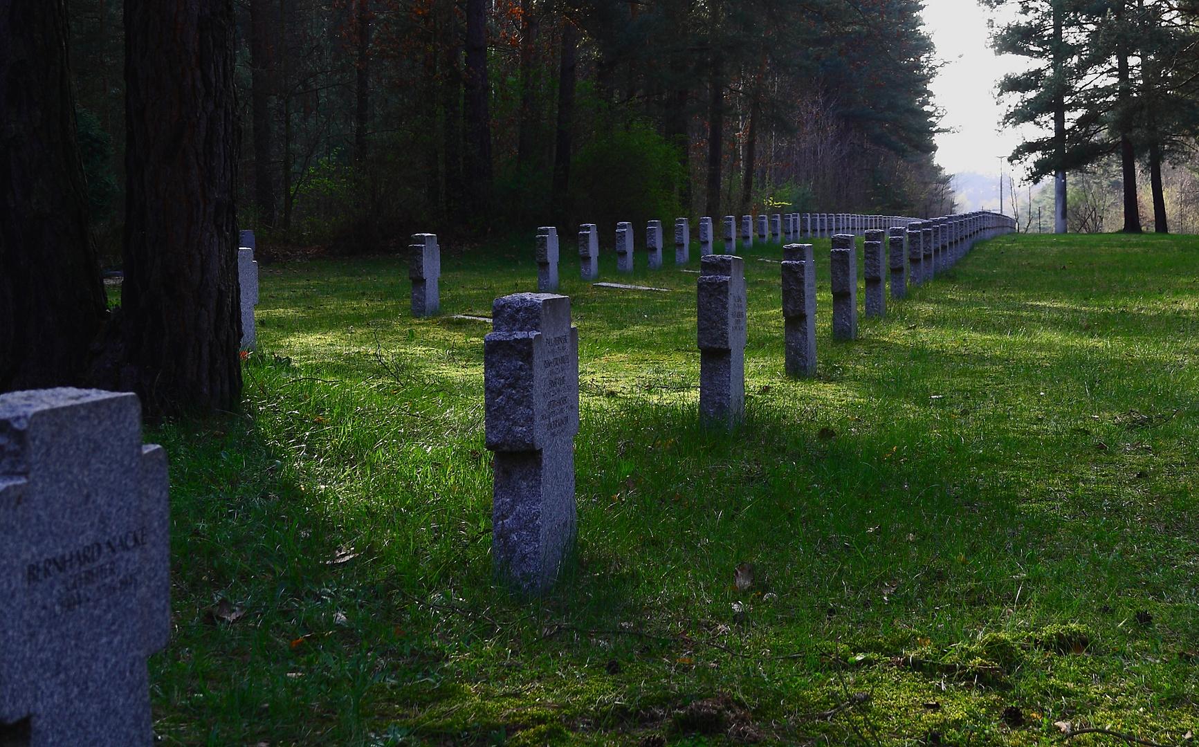 Soldatenfriedhof Elsterheide