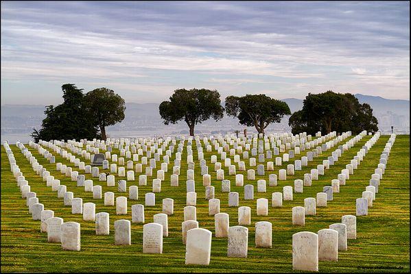 Soldatenfriedhof Fort Rosecranz San Diego Point Loma