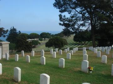 Soldatenfriedhof in San Diego